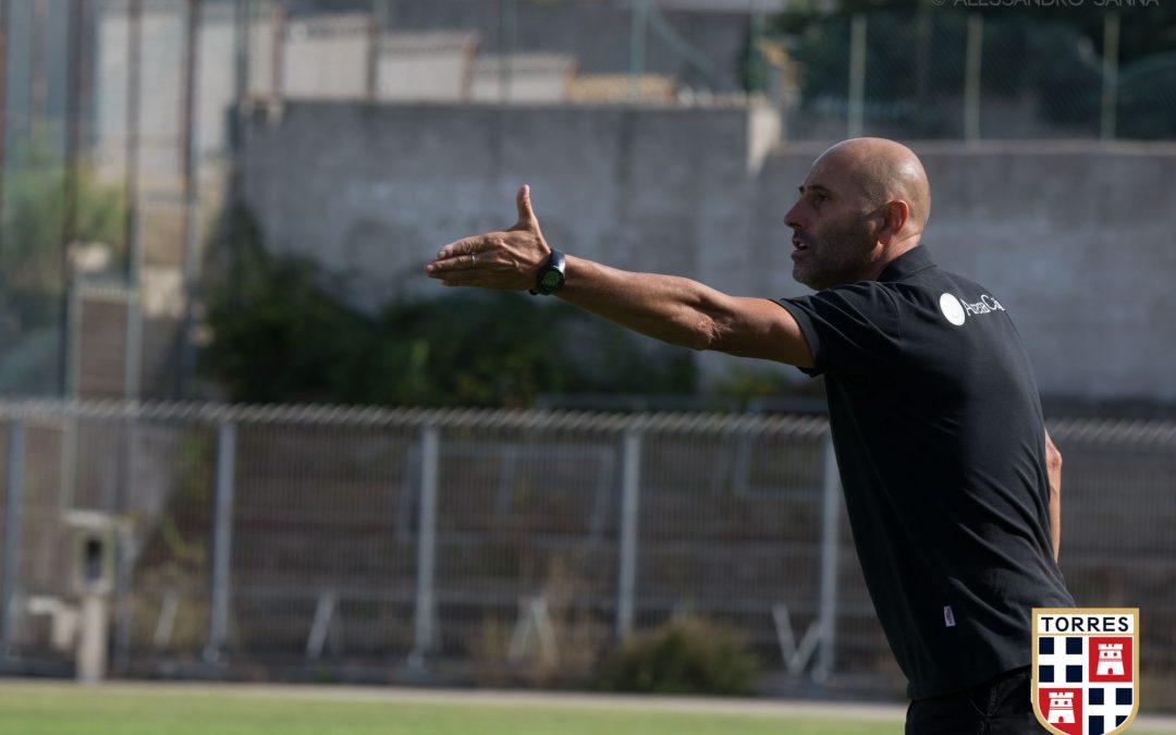 Benvenuto alla Torres a mister Aldo Gardini